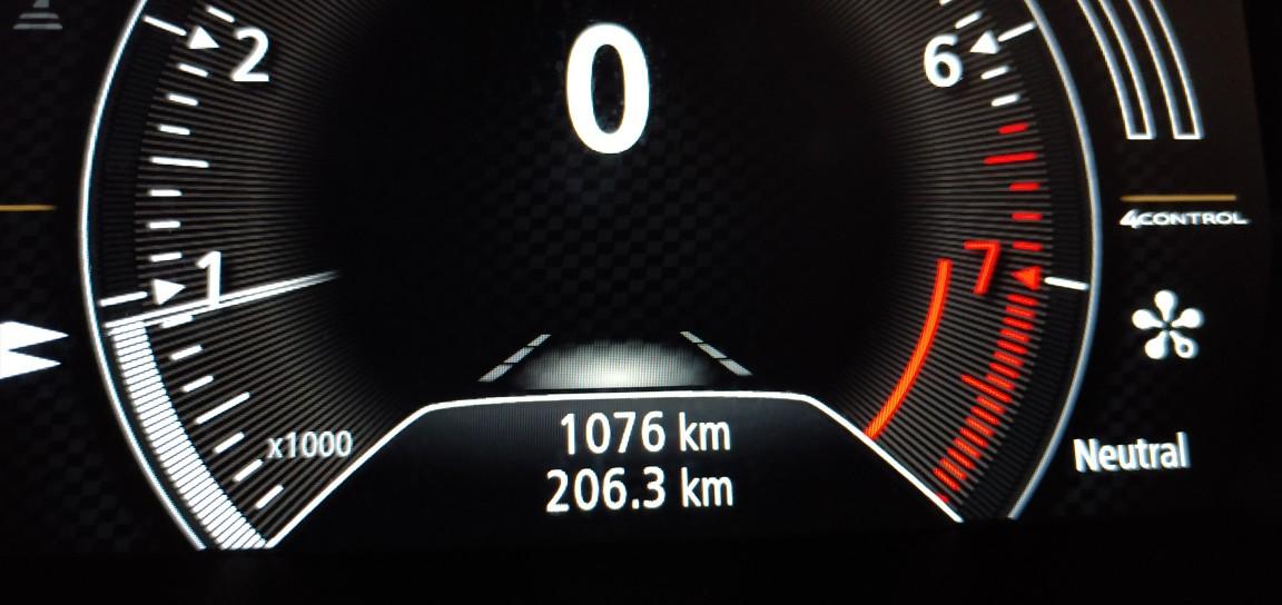 1000km時オイル交換&フィルター交換