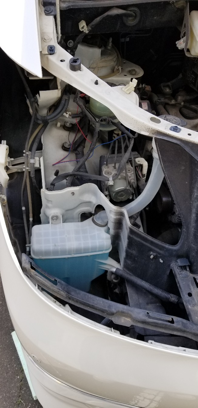 アルファード後期ヘッドライト LS6003連プロジェクター、ダブルイカリングブルーアイ埋め込み