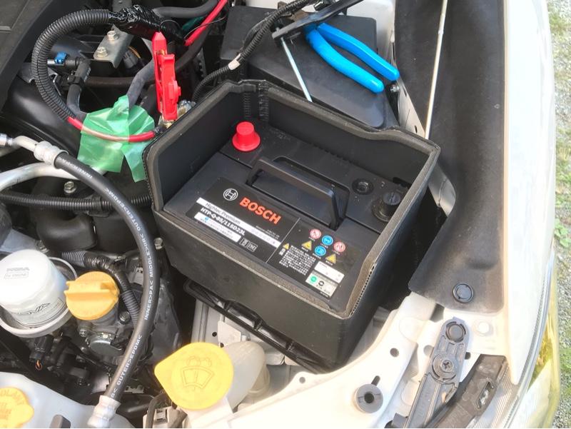 車検前のバッテリー交換