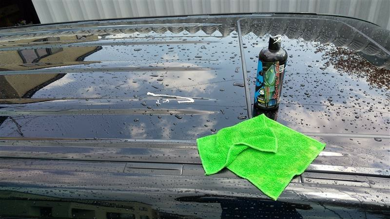 洗車とVOODOORIDE SILQ とホワイトレター2019の2