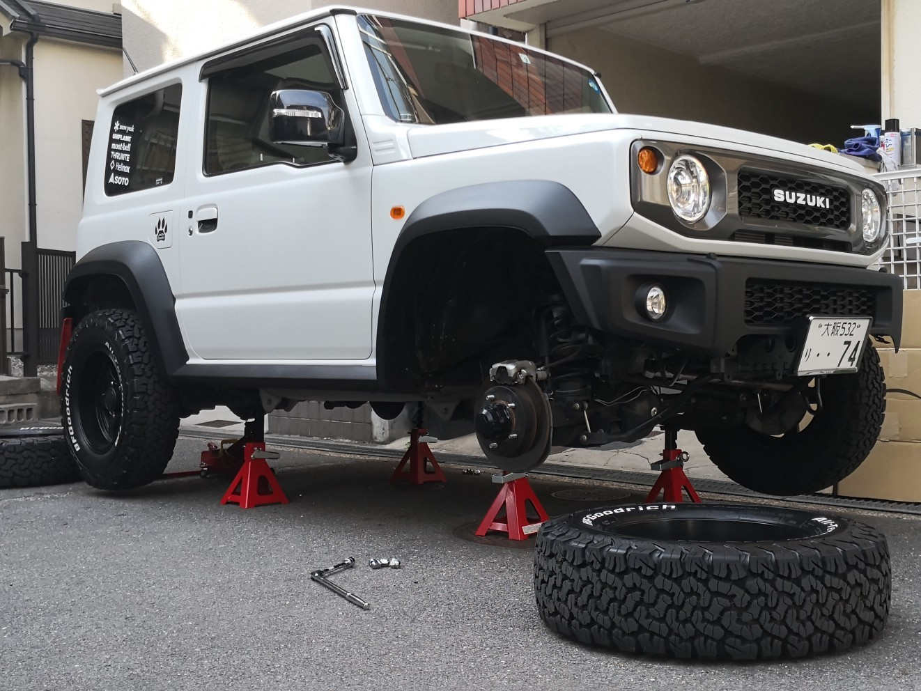 タイヤローテーション