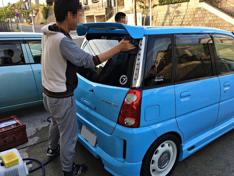 ツルツル洗車♪