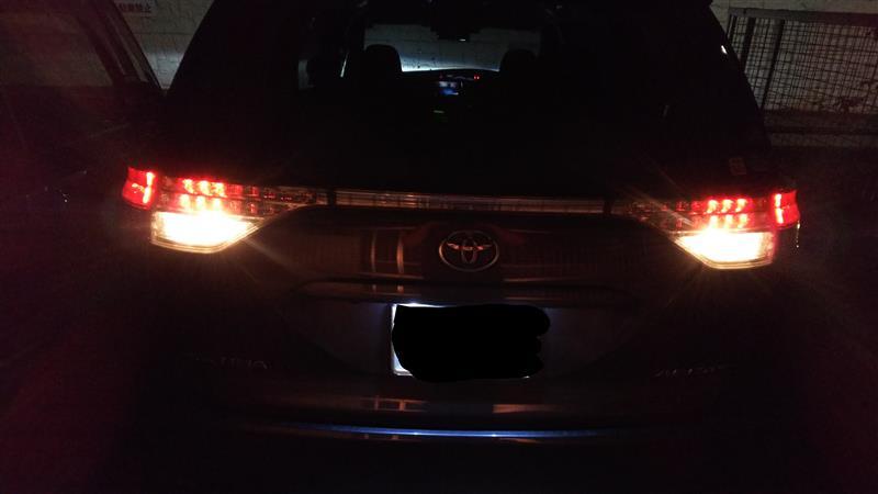 LED ハイパワーバックランプ fcl. バックランプを大光量LEDに!