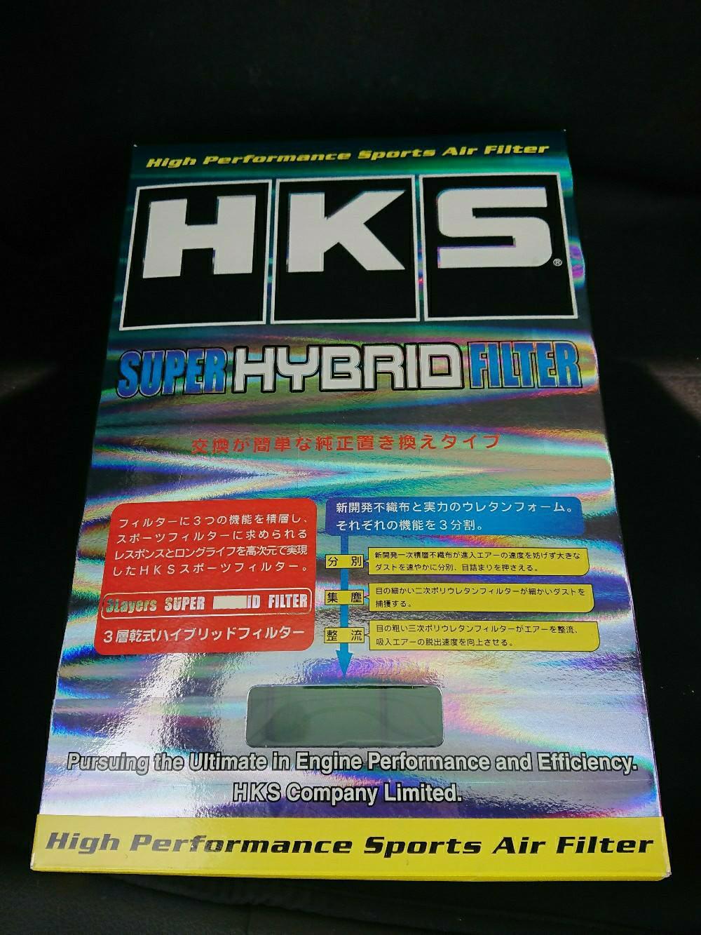 エアフィルターをHKS スーパーハイブリッドフィルターへ交換