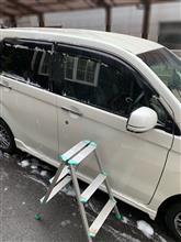 洗車&クレイタオルで鉄粉取り