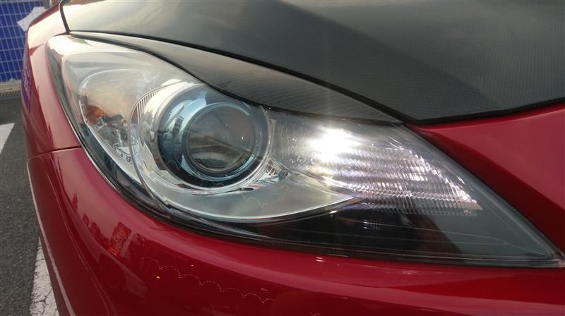 右HIDヘッドライト不点灯修理