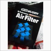 無限 Hi Performance Air Filterの取り付け