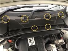 3シリーズ クーペ BMW E92[LCI] エアコンフィルター交換 HENGST BLUE CARE E1959LBのカスタム手順1