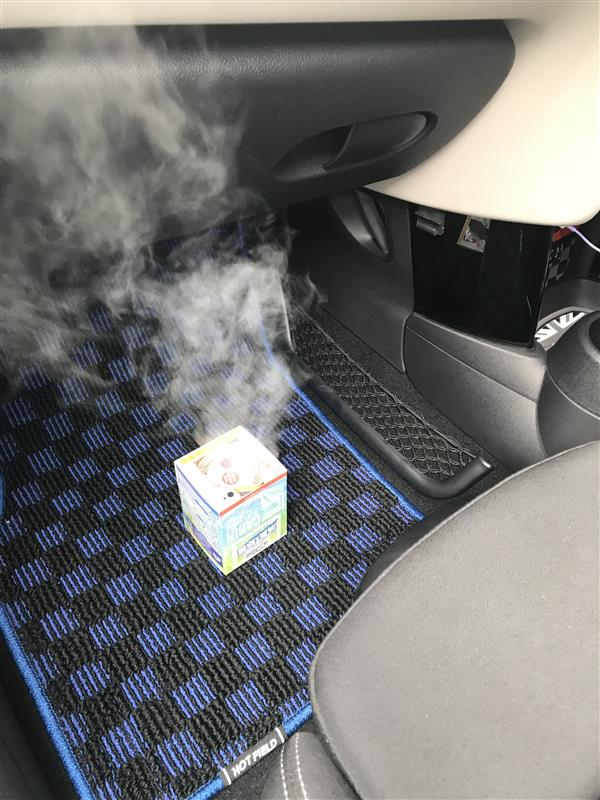 車内消臭の実施