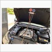 ガス補充+ウィンカー接触不良修理