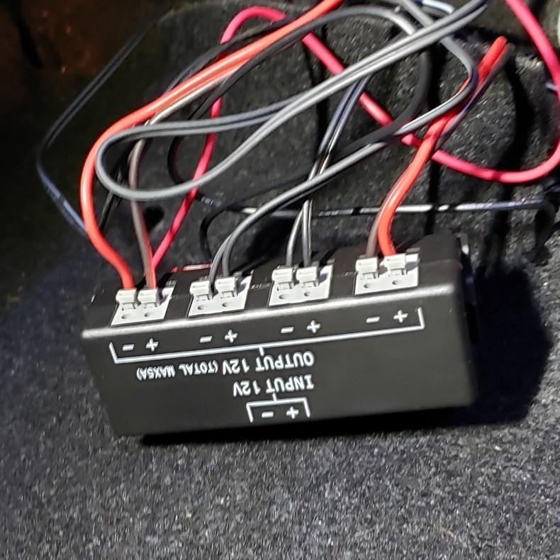 LEDでお尻りがピカピカ✨ホタル⁉️