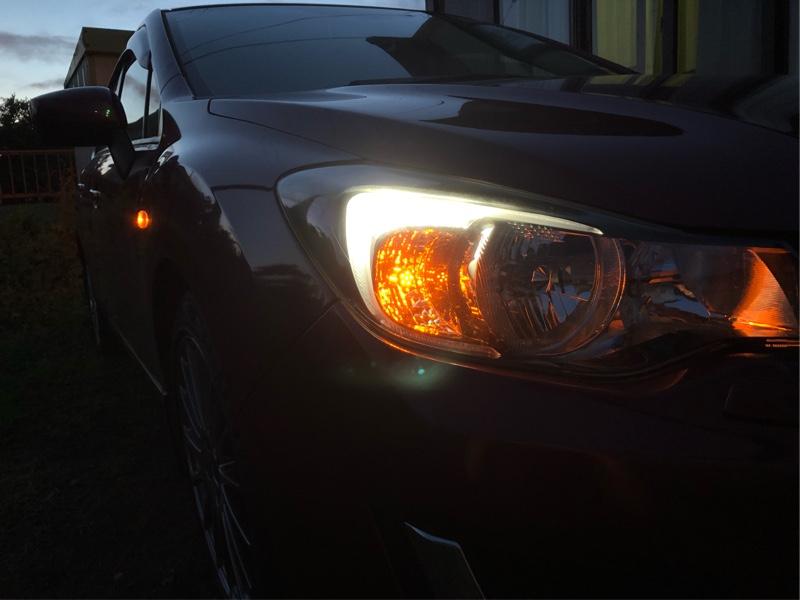 LYZER ウインカーポジションリレー取付