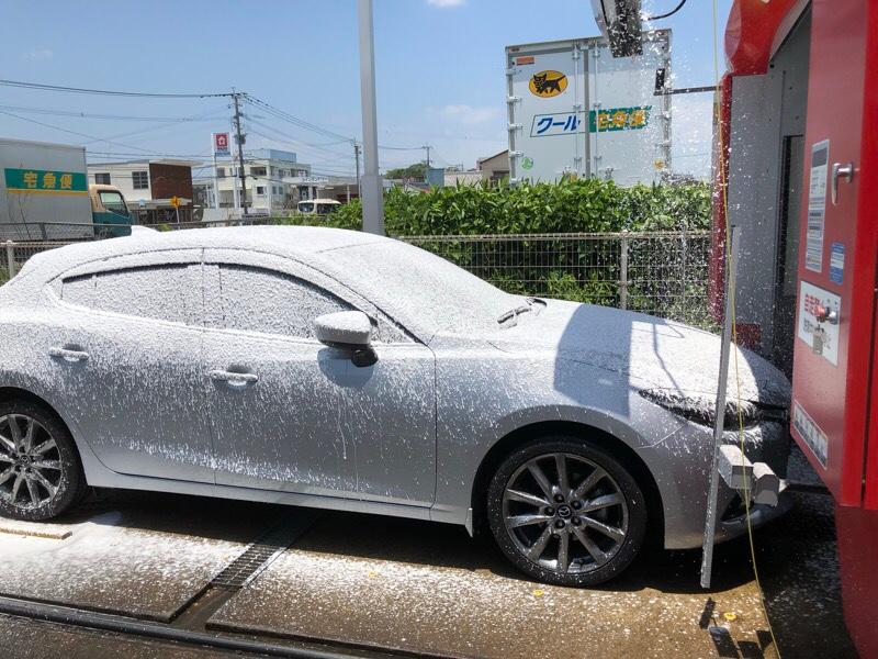 6日ぶりの洗車
