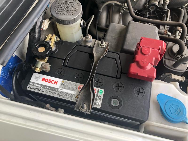 BOSCH製バッテリーに交換