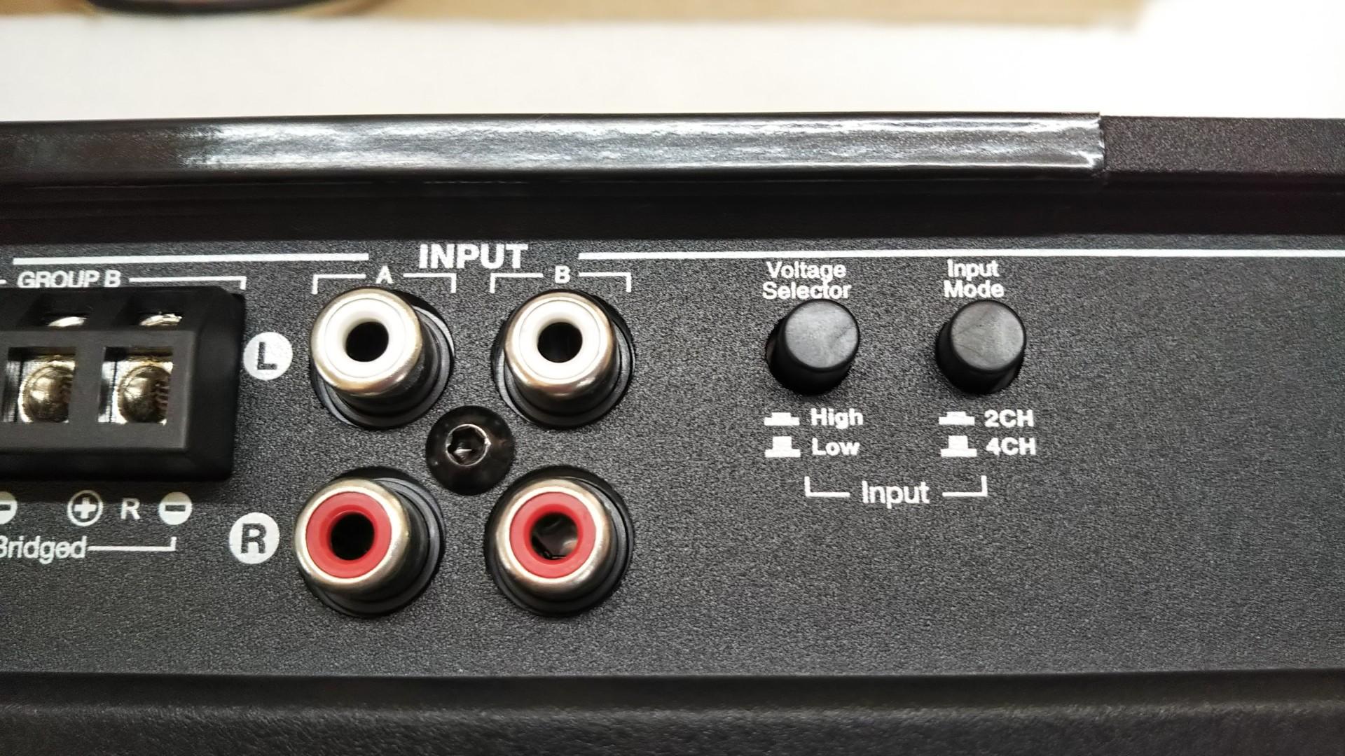 Morel MPS4.400 4chアンプ