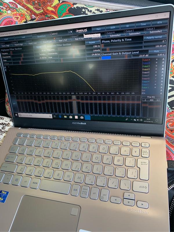 音響改善計画