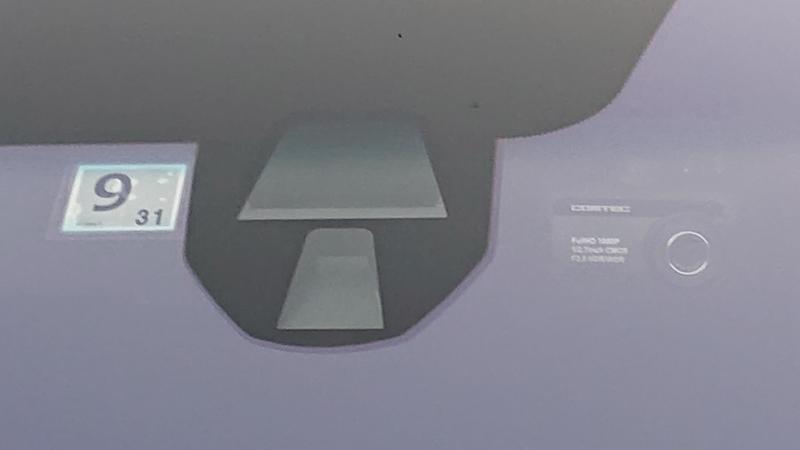 フロントガラスをコートテクトに交換