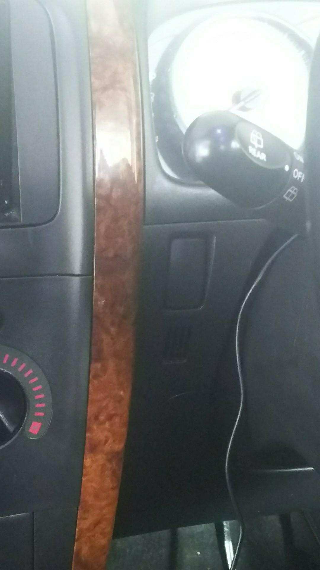 最近、煙草を電子タバコに変更したので車内も仕様変更しました。