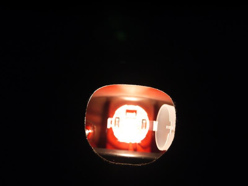 トランク灯をLEDへ交換