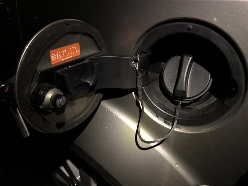 [燃料キャップ アンチルーズコード] ワイヤー化コード改良 (2回目)