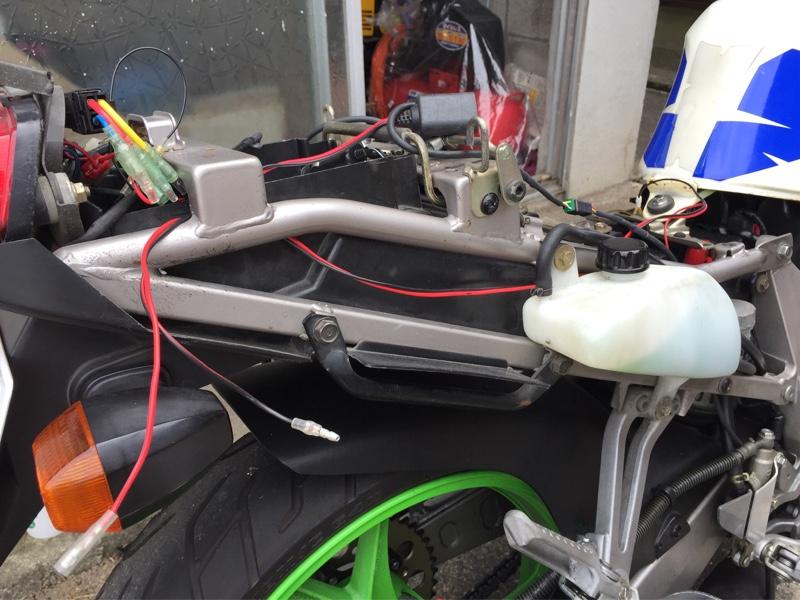 Zxr250にetcを取付ける カワサキ Zxr250 By N700 みんカラ