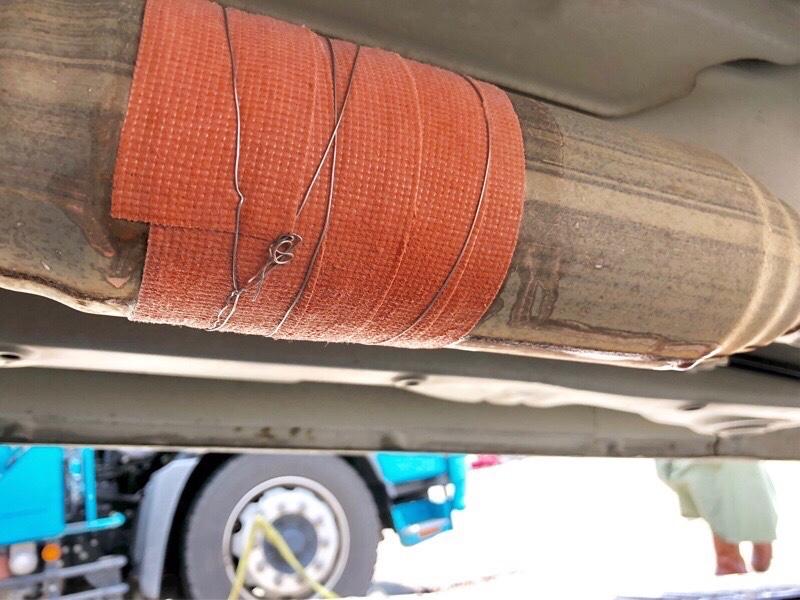 shigeさんの車内を圧迫した棒