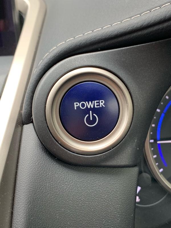 イグニッションプッシュボタンアルミカバー(青)