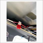 リアエアコンスイッチと<br /> フリップダウンモニターを外して<br /> (ここが一番外れなかった)<br /> <br /> <br /> 検電テスターで確認。<br /> <br /> マイナスコントロールなので<br /> スイッチオンにするとテスターが光らなくなる。<br /> <br /> <br /> ・オープン:細赤線<br /> ・クローズ:細白線<br /> <br /> <br /> 手持ちのカニさんがこれしかない!<br /> 赤のカニさんはワイヤーにワイヤーを巻いて処理。<br /> <br /> まぁダメになったらやり直しだ。<br /> <br /> <br /> <br /> ○スイッチ側配線<br /> <br /> 真ん中offの配線は<br /> マイナス線でボディーアースへ<br /> <br /> あとは好みでどっちでもOK