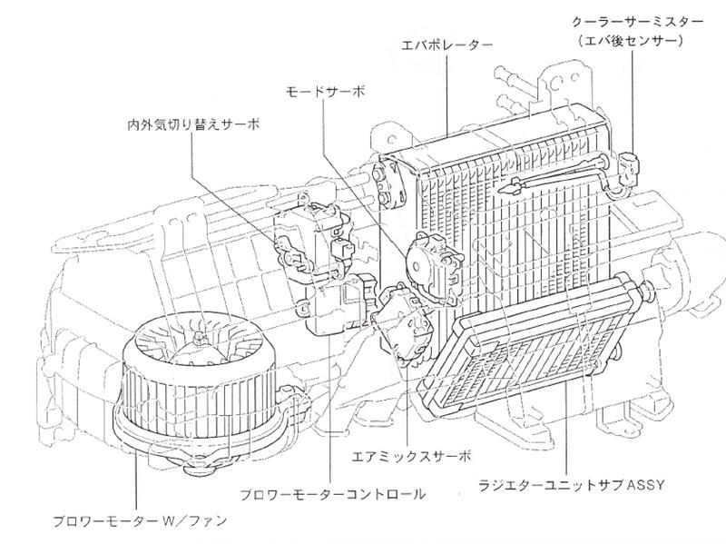 超簡易的エアミックスサーボ誤作動音対応w