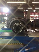 タイヤを新調したのでアライメント再調整