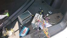 インプレッサ スポーツワゴン WRX ナビ載せ換えのカスタム手順2