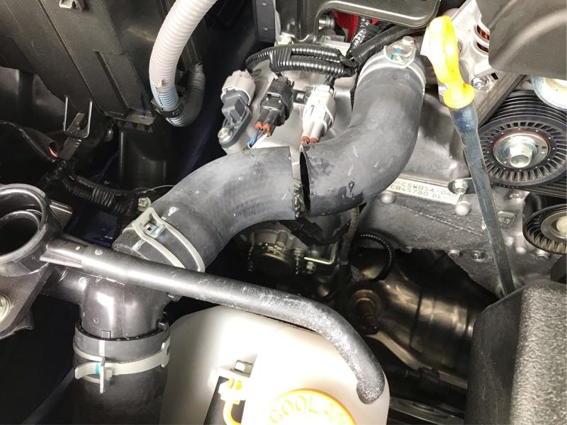 ブリッツ3連追加メーター取付け(油温、油圧、水温)