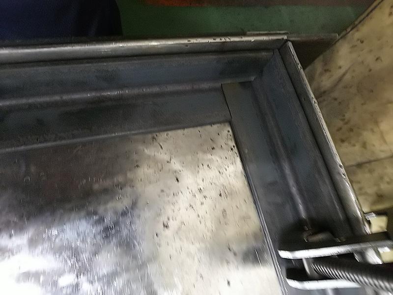 アングル材 継ぎ手溶接法①