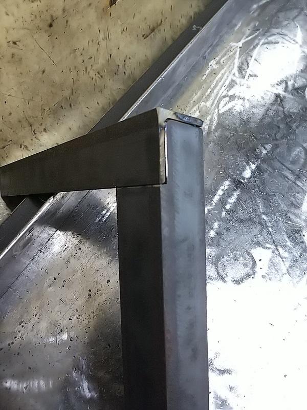 アングル材 継ぎ手溶接法②
