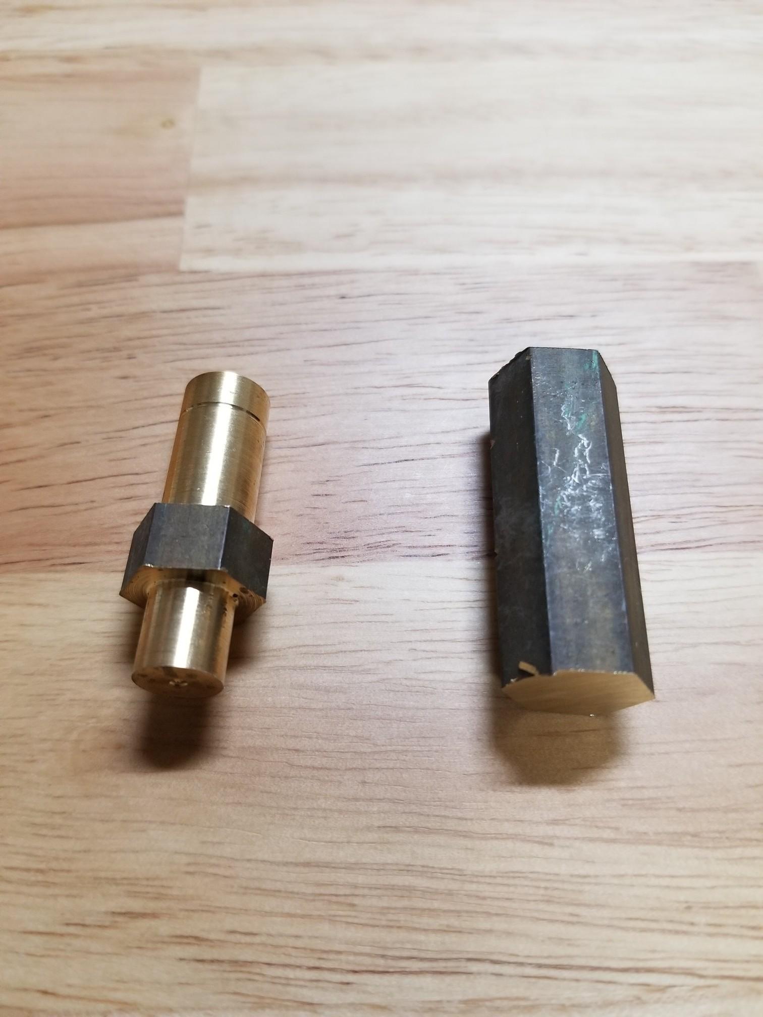 オイルキャッチタンク製作1(ホース継手)