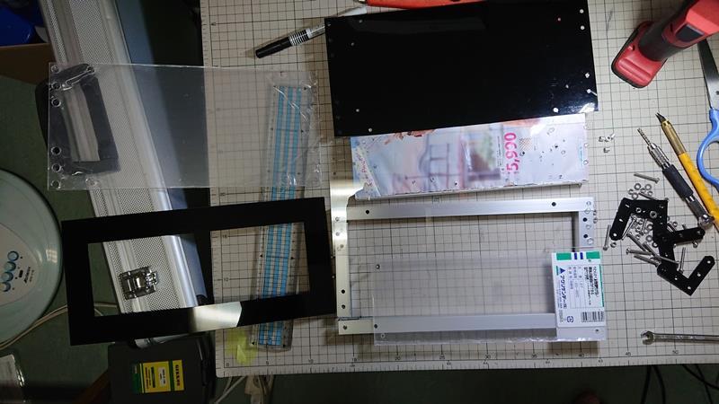 NBOX club ステッカー LEDアクリルプレートユニットVer.2製作 その1
