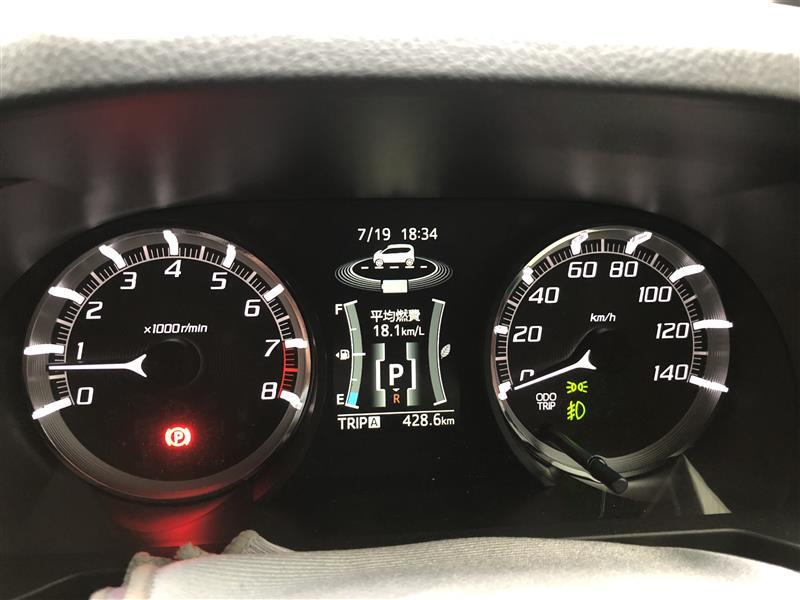 燃料計表示。