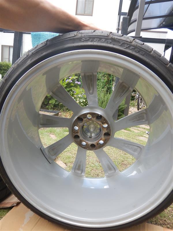 Lorinser RS8 19インチ交換