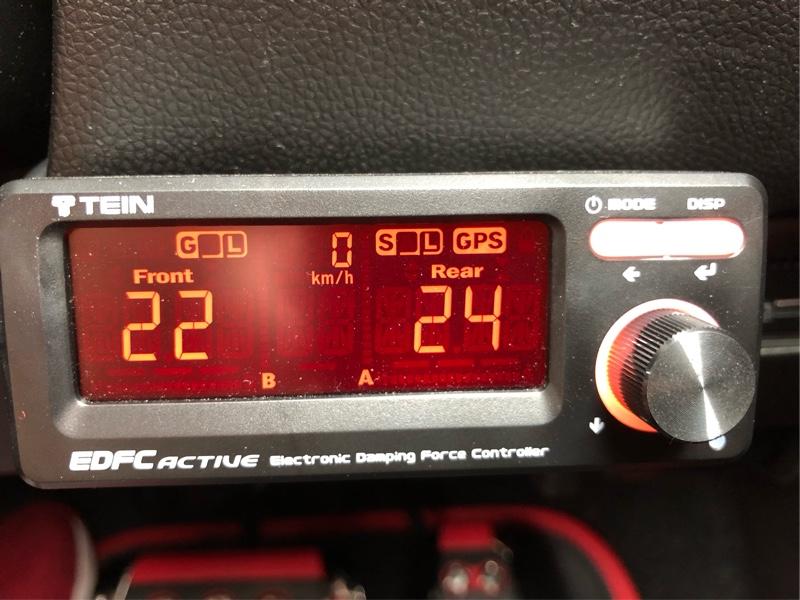 ふじっポ−117 TEIN モノレーシング装着 EDFC調整編