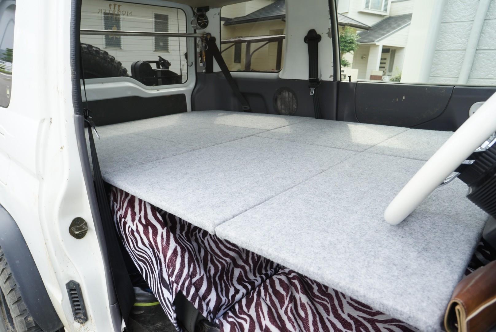 車中泊ベッド製作③
