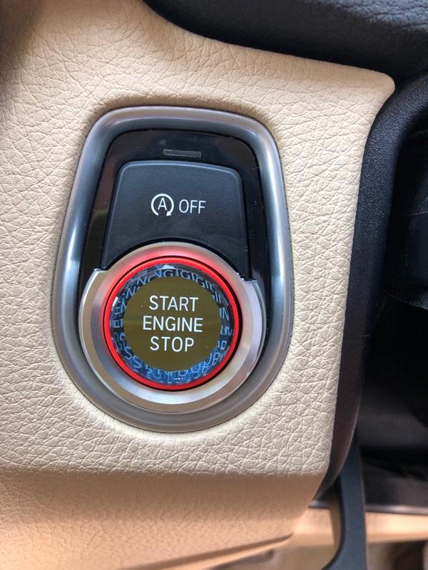 エンジンスタートボタン交換
