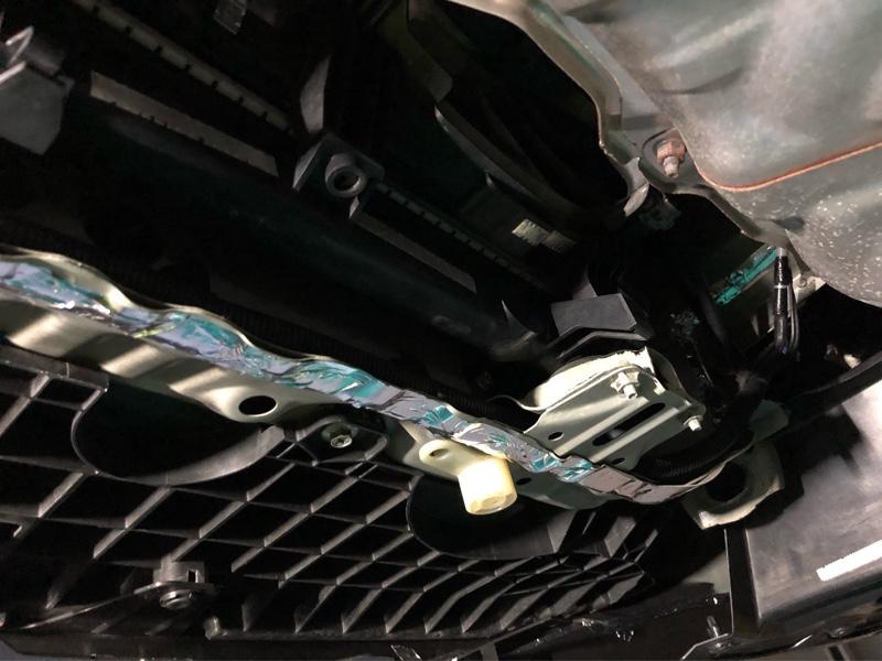 エンジンのアースケーブルを更新しました