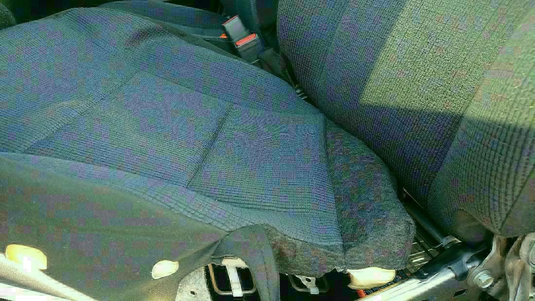 シートの分解、洗浄