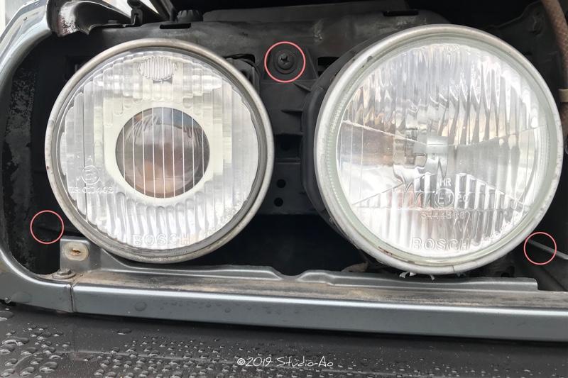 ヘッドライト交換