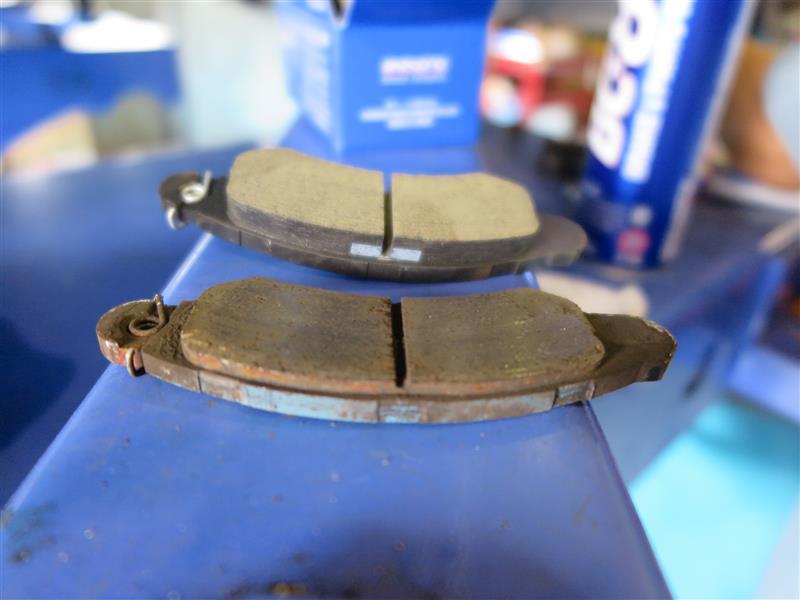 ブレーキの修理