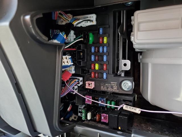電源取り出しコネクタ設置