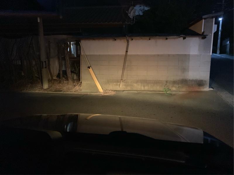 補助ランプ交換