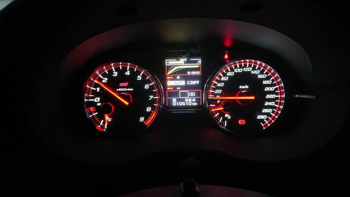 18ヶ月点検 セーフティチェック ODO 10,510km
