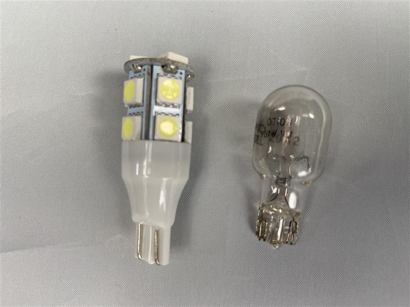 バックランプ & ナンバー灯(再) LED化