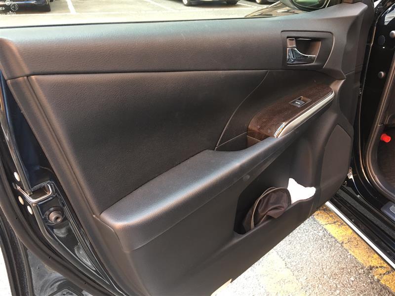 車の内装についた日焼け止めの除去
